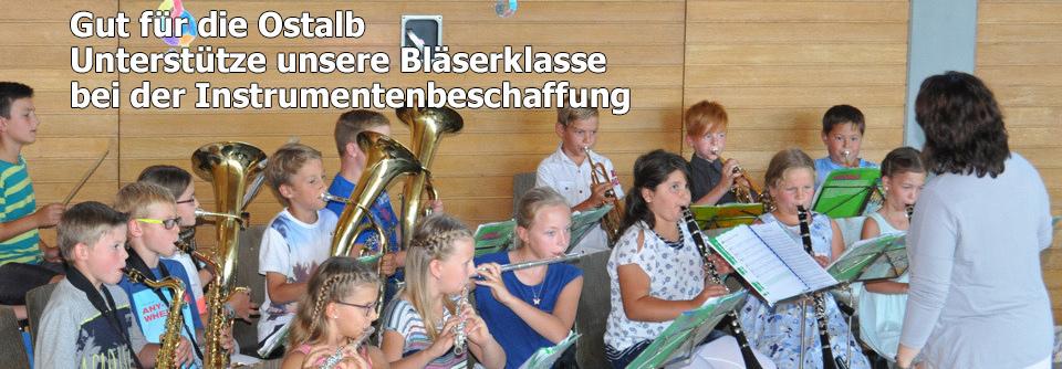 Unterstütze unsere Bläserklasse bei der Instrumentenbeschaffung